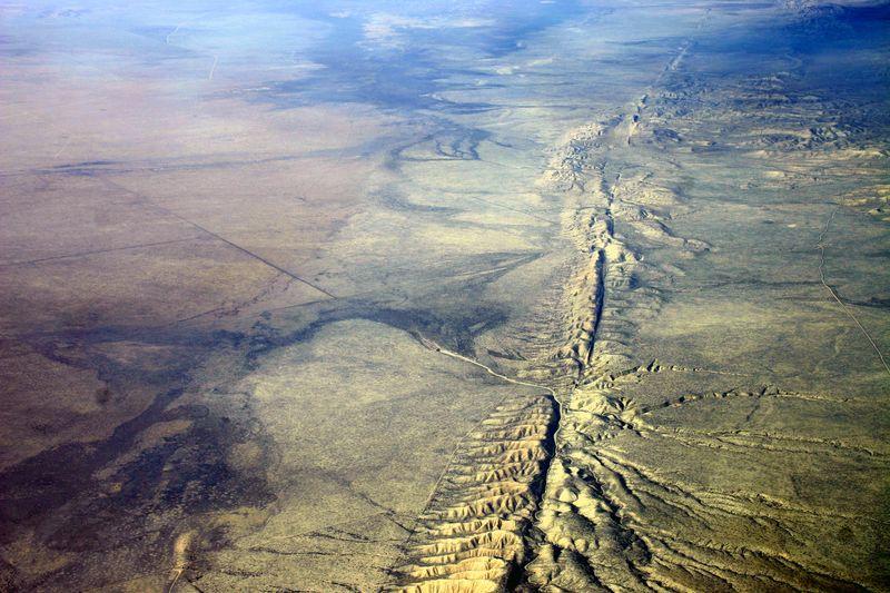 Aerial-photo-Carrizo-Plain