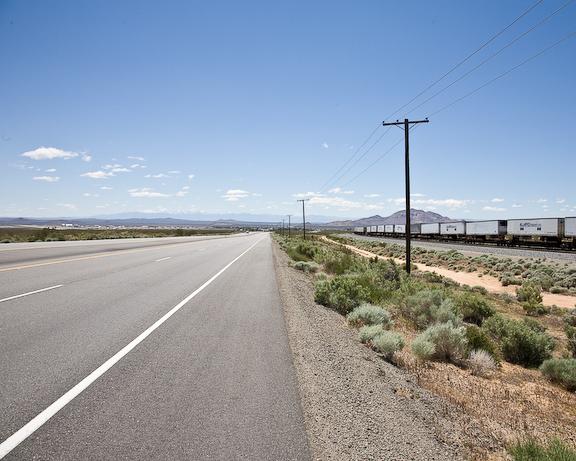 Tehachapi Pass view to Mojave-3495