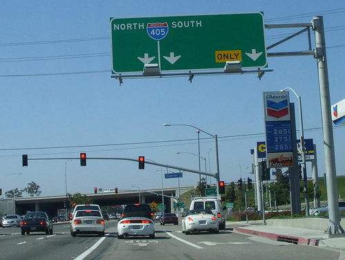 Freeway sign-1