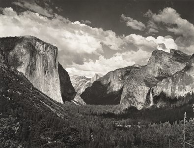 Tunnel view ansel